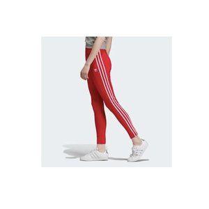adidas Pants & Jumpsuits - Adidas Original Shiny 3 Stripe Leggings